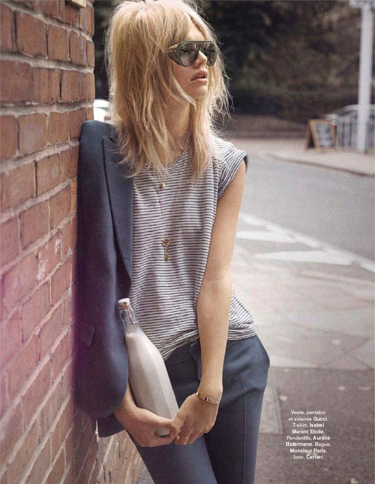 Carnaby Street | Glamour France September 2014 | Nadine Leopold by Stefano Galuzzi #Gucci #IsabelMarant #Cartier