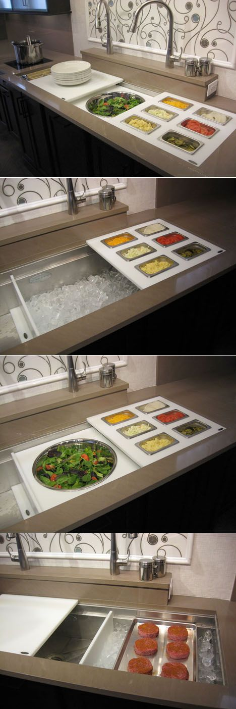 Great idea if we have in-house cooking demos or for creating the recipes in Alex's recipe book!