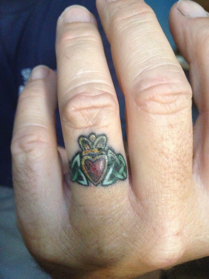 Irish Wedding Ring Tattoos: 59 Best Tattoo Rings Images On Pinterest