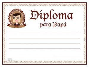 #paraimprimir #diploma #diplomapapa #diadelpadre #parapapa Diploma para papa