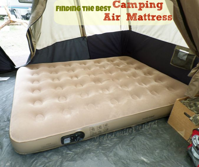 finding the best camping air mattress instabed queen air mattress for outdoor use
