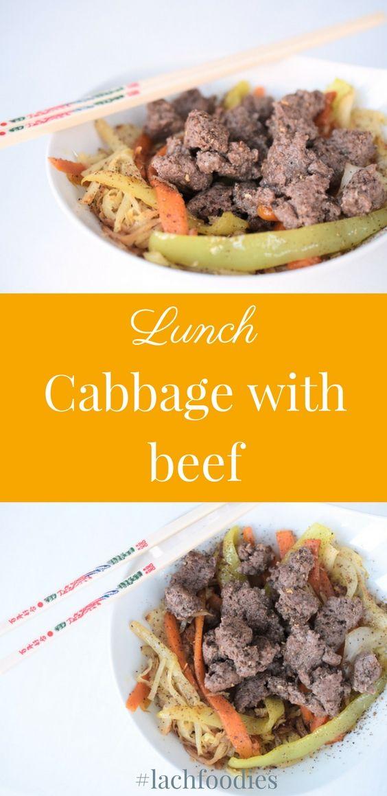 Your healthy lunch: Cabbage with beef. Ein gesundes Mittagessen: Weißkrautpfanne mit Rindfleisch. ...... low carb, lc, lchf, kept, Mittagessen, lunch, dinner, Abendessen, gesundes Mittagessen, gesundes Abendessen, low carb lunch, Mittagessen ohne Kohlenhydrate, Mittagessen gesundes, Mittagessen Rezept, Mittagessen schnelles, low carb mittagessen bro, lunchbox, beef, pan, recipe, kraut rezept, weißkraut, lecker