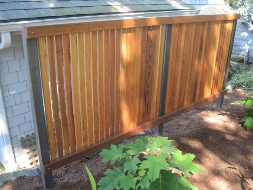 39 best images about fence ideas on pinterest for Carport fence ideas