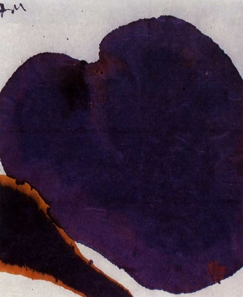 Robert Motherwell (January 24, 1915 – July 16, 1991) American painter, printmaker and editor. He was one of the youngest of the New York School (a phrase he coined), which also included Jackson Pollock, Mark Rothko, Willem de Kooning, and Philip Guston.