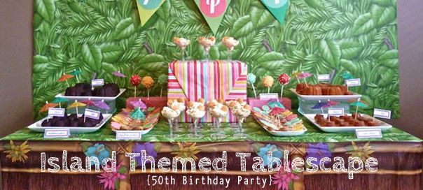 island themed party
