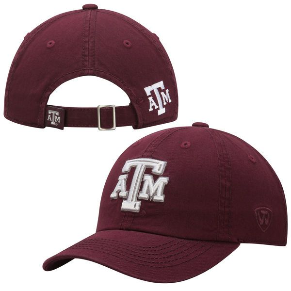 Youth Boy's Texas A&M Aggies Top of the World Maroon Crew Adjustable Hat