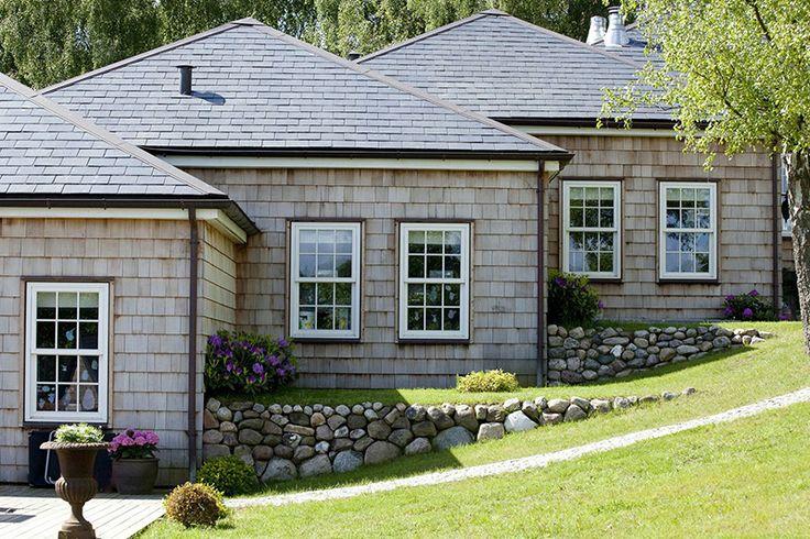 New England rustik, med lantliga drag, #arkitektritat #willanordic #newengland