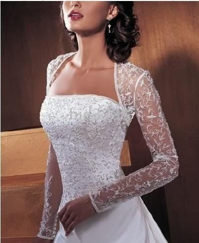wedding winter bolero