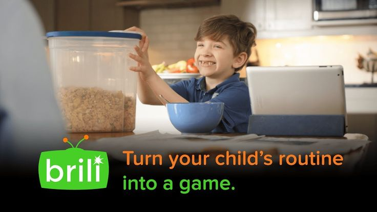 Brili Makes Your Child's Routine a Game