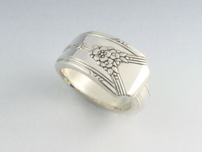 Fresh Fork and Spoon Jewelry Spoon Ring as the wedding bands Just a thought