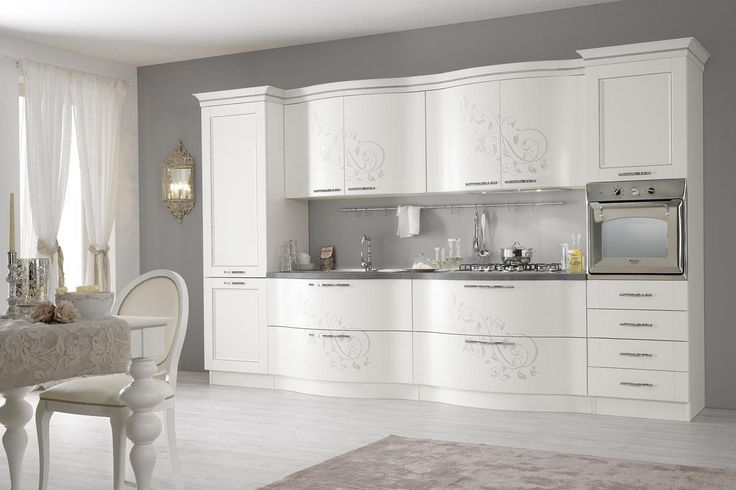Kitchens that are precious and refined, with undisputed elegance and great convenience. Soft and sinuous shapes create furniture of great charm characterised by careful craftsmanship and rich details.  http://www.spar.it/sp/en/arredamento/cucine-00.3sp?cts=cucine_classiche_prestige?utm_source=pinterest.com&utm_medium=post&utm_content=cucine-classiche-prestige&utm_campaign=pin-cucine-classiche