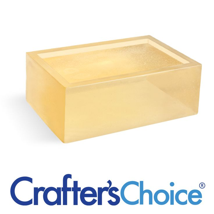 Crafters Choice Detergent Free Honey Soap 2 Lb Tray Soap Making Supplies Soap Base Soap Making