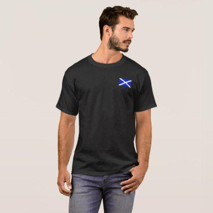 Scotland flag customizable shirt - diy cyo personalize design idea new special custom