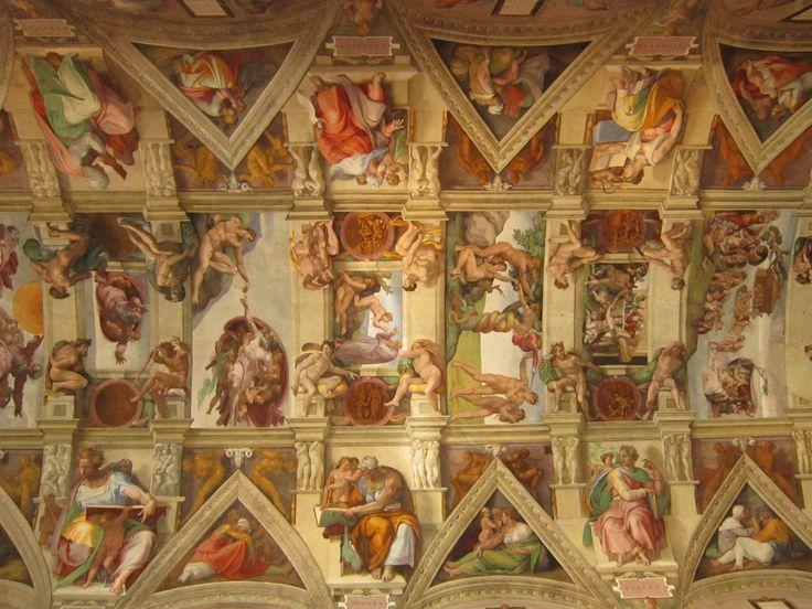 The Sistine Chapel by Michelangelo #SistineChapel #Vatican #Michelangelo