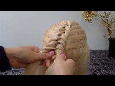 Ютуб видео прически на длинные волосы
