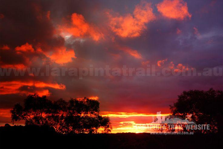 Another amazing post-downpour late sunset shot on the Larapinta Trail. © Explorers Australia Pty Ltd 2014