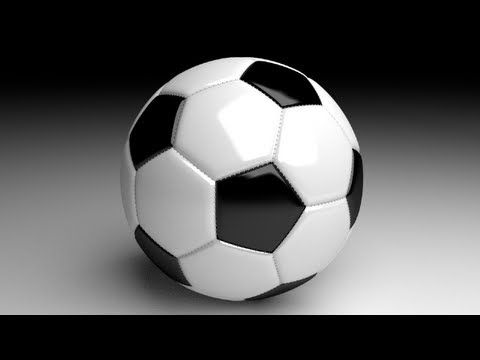 Blender Tutorial: Soccer Ball with Stitching