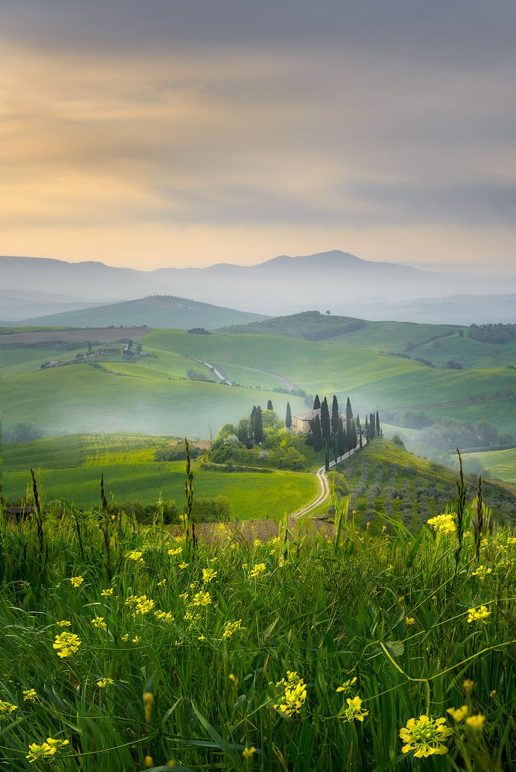 Belvedere - Val d'Orcia, Toscana, Italia