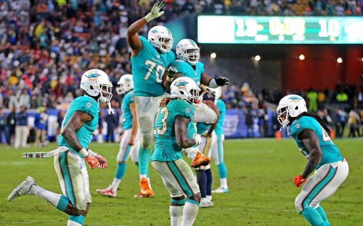 Miami Dolphins doing exactly what playoff teams do