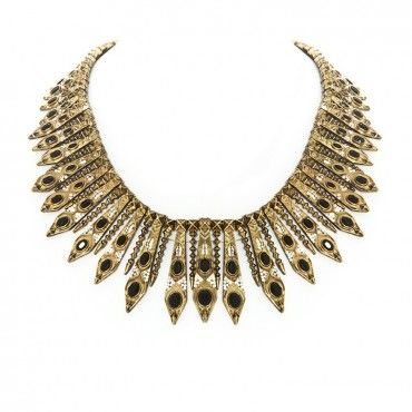 Gypsy Feather Necklace from House of Harlow $198
