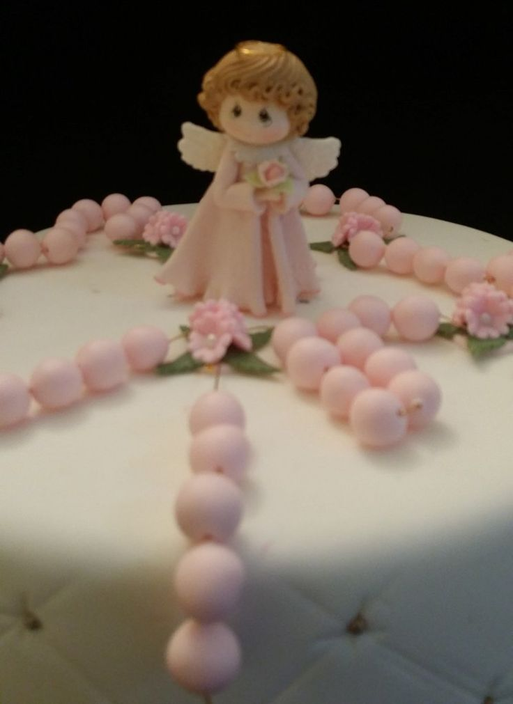 Cake Toppers For Baby Girl Christening : Best 25+ Girl baptism cakes ideas on Pinterest