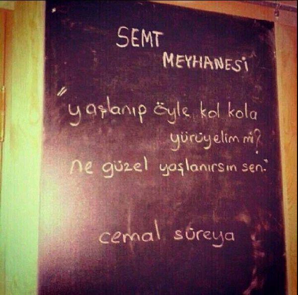 Cemal Süreya. #şiirsokakta