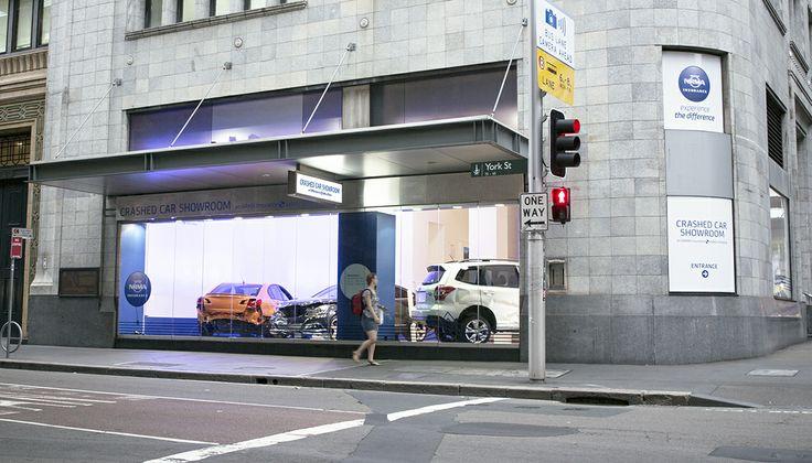 NRMA Crashed Car Showroom