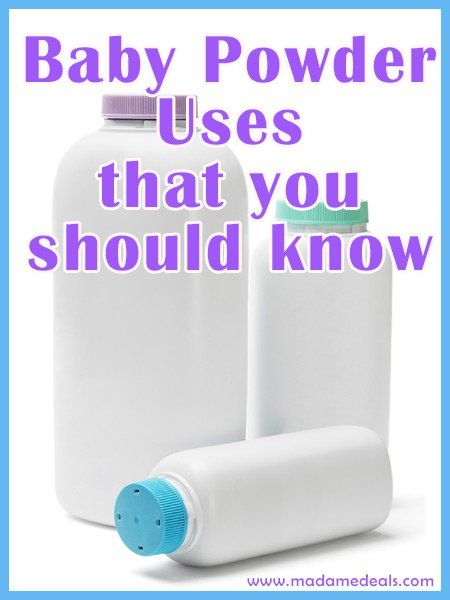 Blog post at Real Advice Gal : Talc Baby Powder  Use Talc Baby Powder to Solve Common Issues and Save Money Baby powder doesn't have to be used for babies only. There a[..]