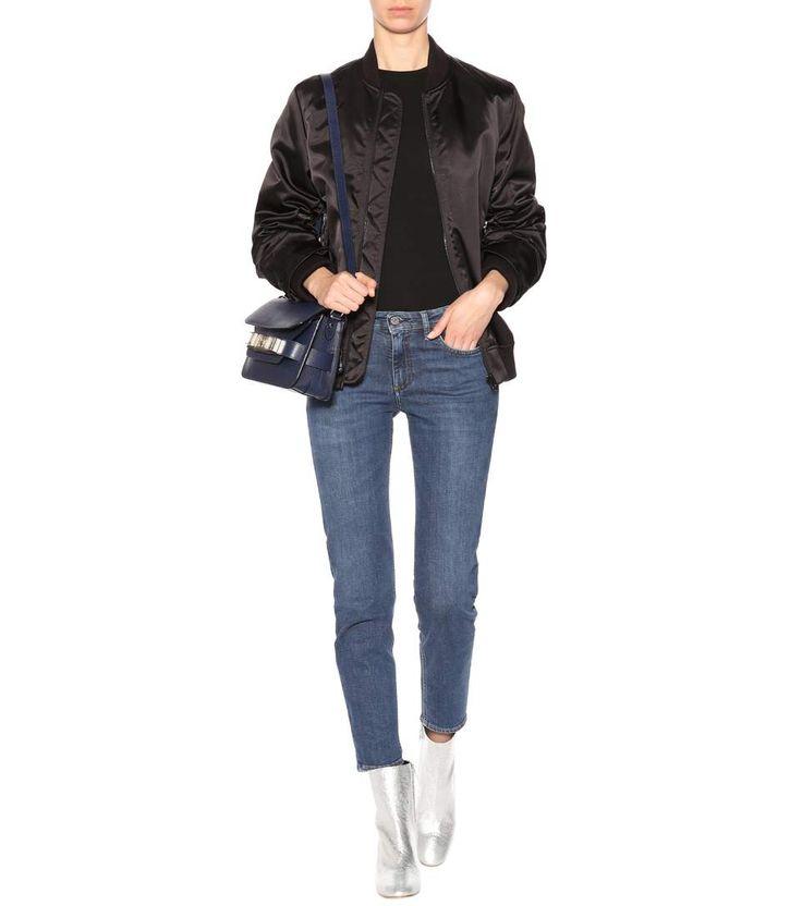 Blå Konst Climb blue mid-rise jeans