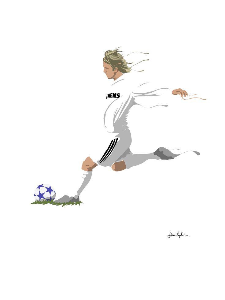 David Beckham by Dan Leydon