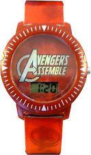 Accutime Marvel Avengers Assemble Red Lenticular Boys Digital Watch AVG3530KL