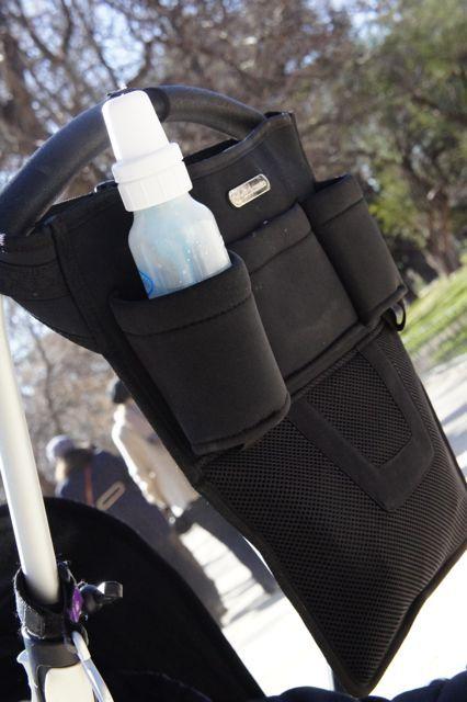 Aquí la tenemos otra vez. La bolsa Weekend en la silla de paseo.