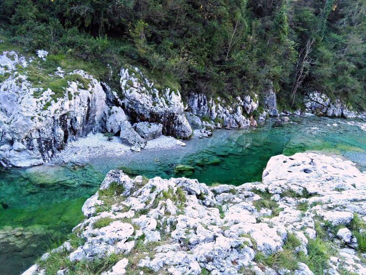 Val d'Arzino, wild beach