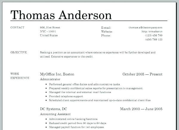 Creating A Free Resume Help Make Astounding How To