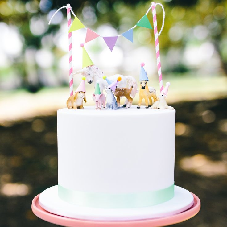 Party Animal 1st Birthday First Birthday Ideas: 25+ Best Ideas About Animal Birthday Cakes On Pinterest