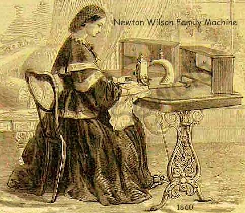 1790: Thomas Saint made the first sewing machine before America did. He used it to made sewing faster, more reliable, and easier.