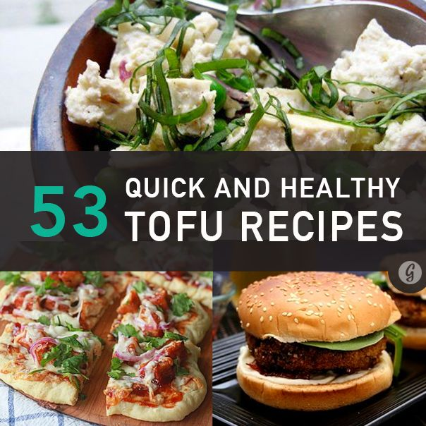 53 Brilliant Ways to Spice Up Boring Tofu #recipes #tofu