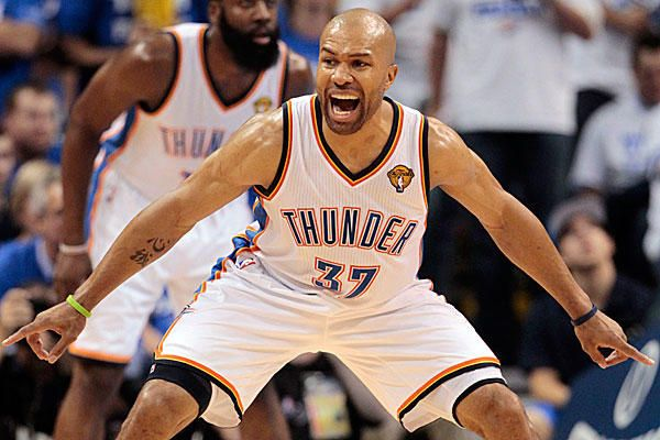 Derek Fisher returns to Oklahoma City Thunder