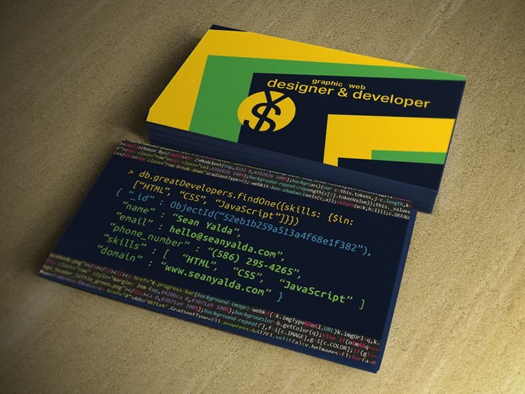 My Business Card v1.01
