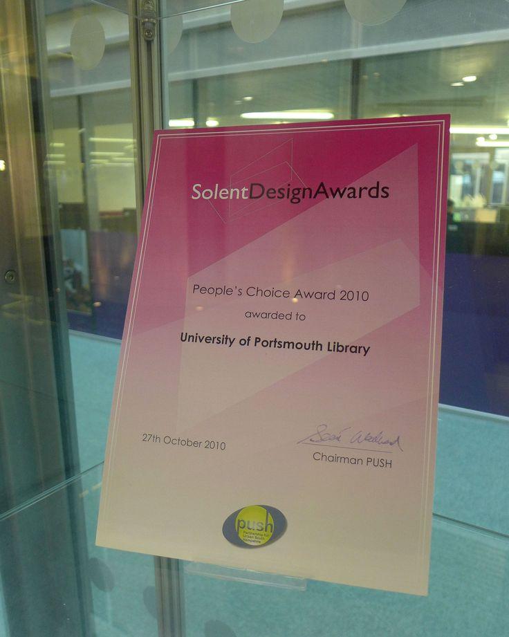 Solent Design Award: Peoples Choice 2010