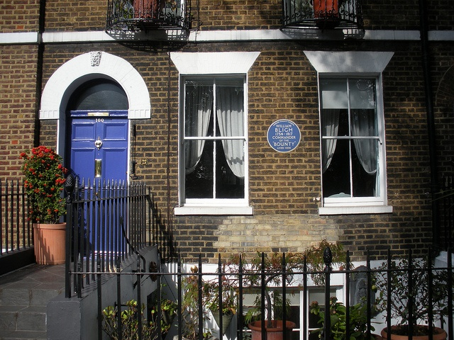 Bligh's house, Lambeth North, London.    William Bligh bought this house when it was brand new, in about 1794, five years after the mutiny on the Bounty.