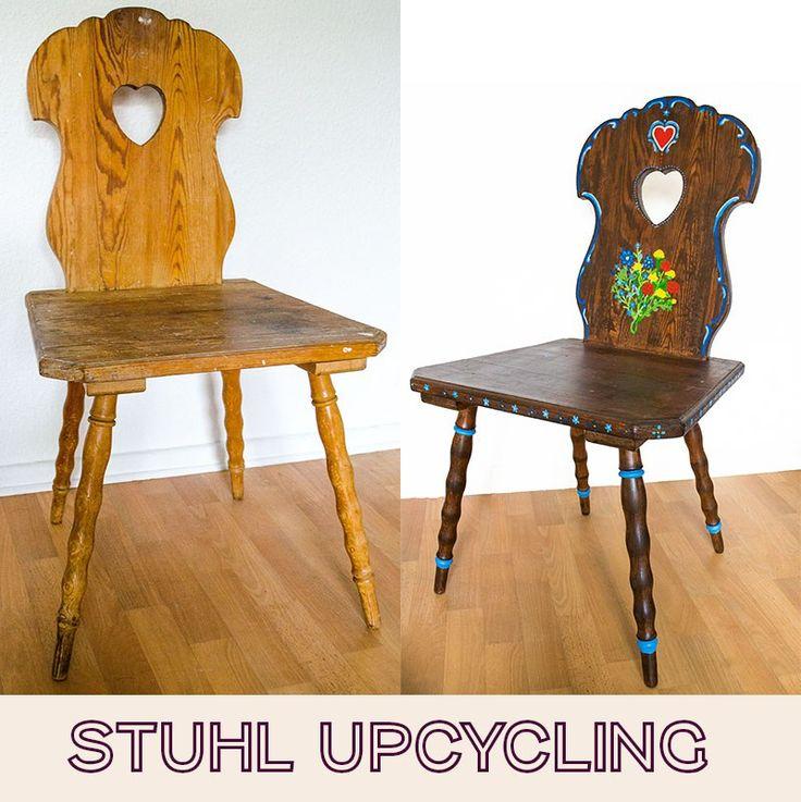 31 besten upcycling bilder auf pinterest for Stuhl upcycling