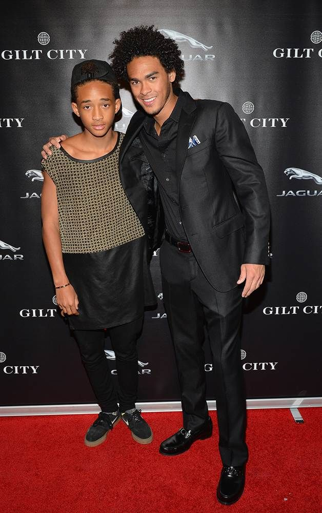 Jaden Trey Smith Will Smith S Sons Brothers