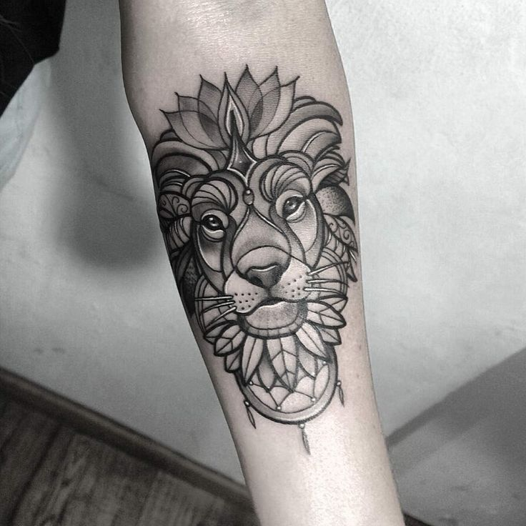 Lion - not sure about the whiskers but the rest is cool