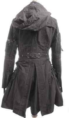 |Auth. Marithe+Francois GIRBAUD | Amazing coat winter | black T 36/38   v.390$