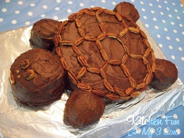 Turtle Turtle Cake...Adorable & the BEST tasting cake ever!