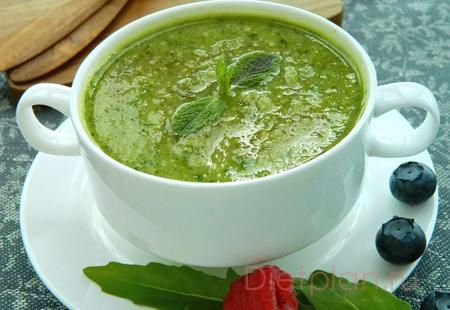 Детокс-суп из брокколи с рукколой рецепт - детокс суп рецепт, детокс-суп Пэлтроу :: JV.RU