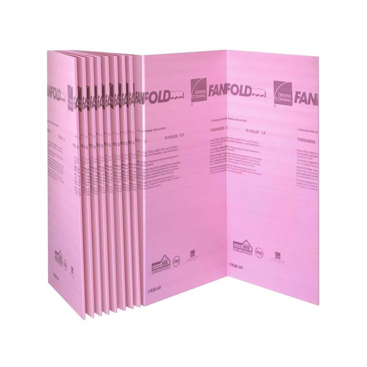 4 Ft X 50 Ft R 1 Fanfold Insulation Sheathing Could