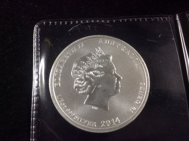 Australian Bullion 2014 Elizabeth II 1/2 Ounce .999 Silver Coin Priced at $9.99 available at Gadgets and Gold!