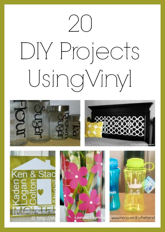 Second Chance to Dream: 20 DIY Projects using Vinyl